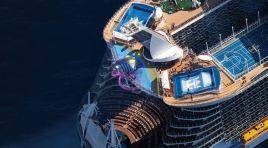 Royal Caribbean coloca novo Symphony of the Seas no Mediterrâneo em 2018