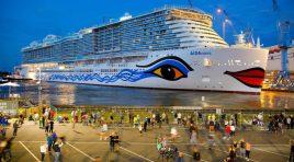AIDAnova já foi entregue à AIDA Cruises (e torna-se o maior navio de cruzeiros da Carnival)