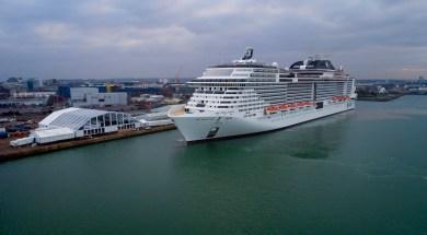 MSC-Bellissima-Nomeação-Southampton
