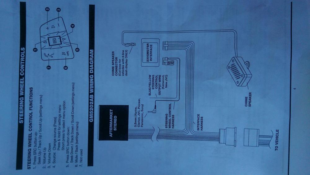 medium resolution of this is the wiring diagram that came with the gm5202ab which includes the gm27sr
