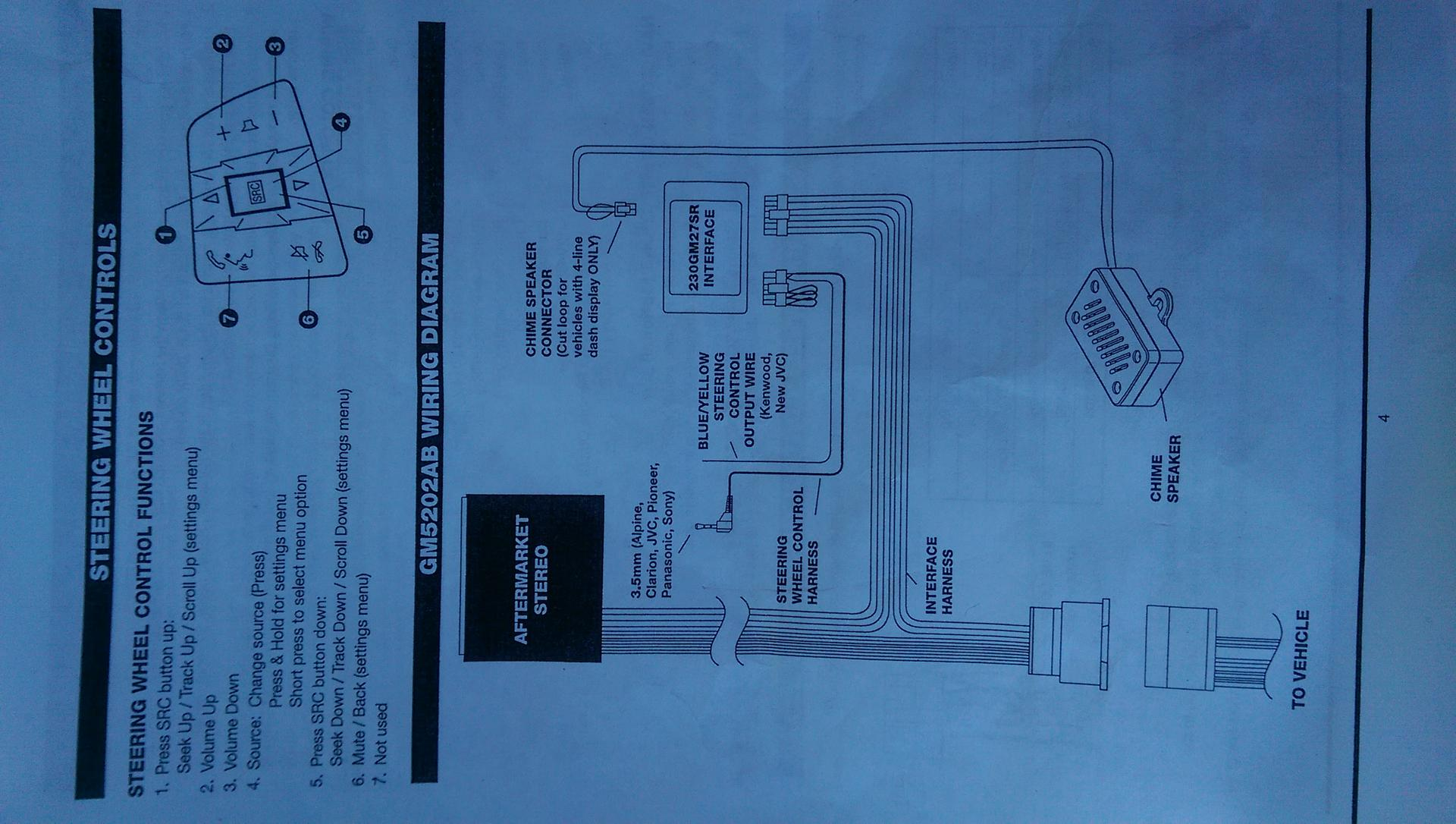 hight resolution of this is the wiring diagram that came with the gm5202ab which includes the gm27sr