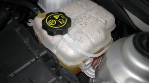 Coolant Reservoir Levelwon't stay topped off