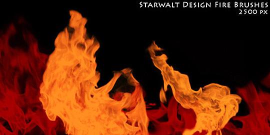 Starwalt fire brushes