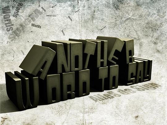 3D Typography1