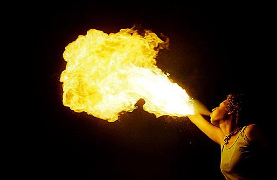 Fire in the sky by Mert