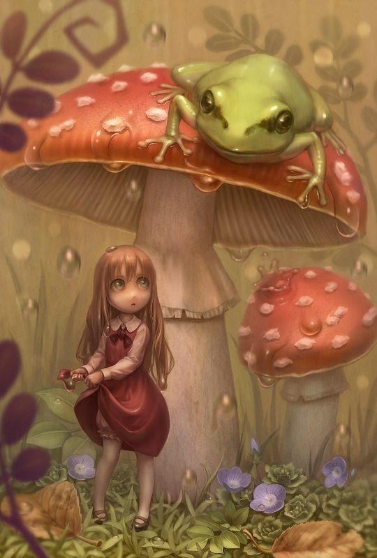 Beautiful Digital Art by Daiyou-Uonome1