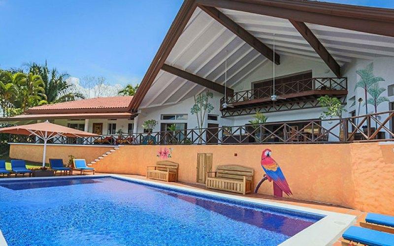 Manuel Antonio Vacation Rental VP Private Resort pool and deck