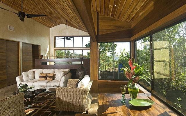 Manuel Antonio Vacation Properties: Casa Carolina lounge
