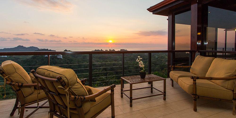 Villa Celaje balcony view