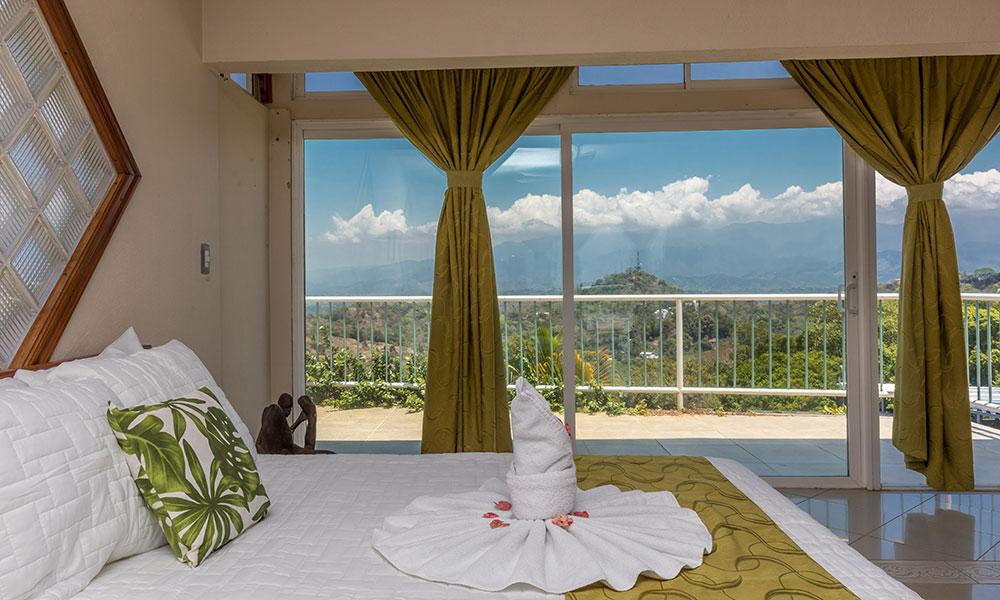 Casa Alta Vista double bedroom view