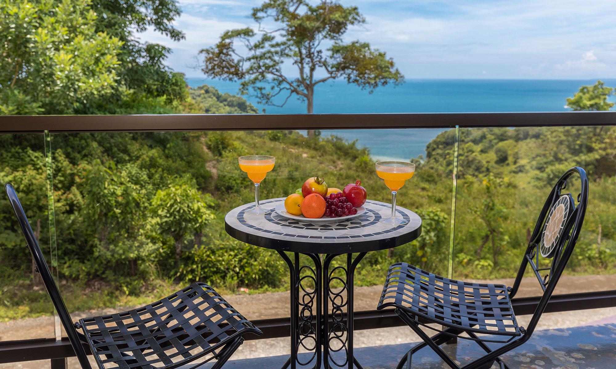 Casa wyrica balcony view