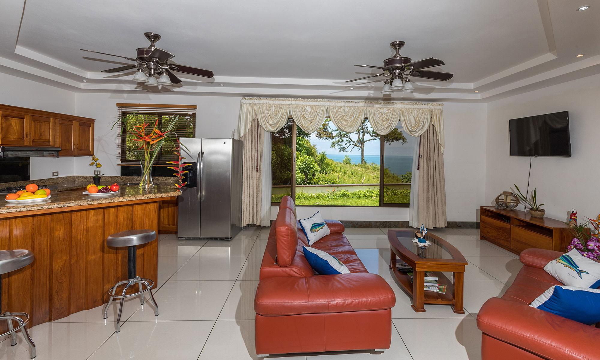 Casa Wyrica living room