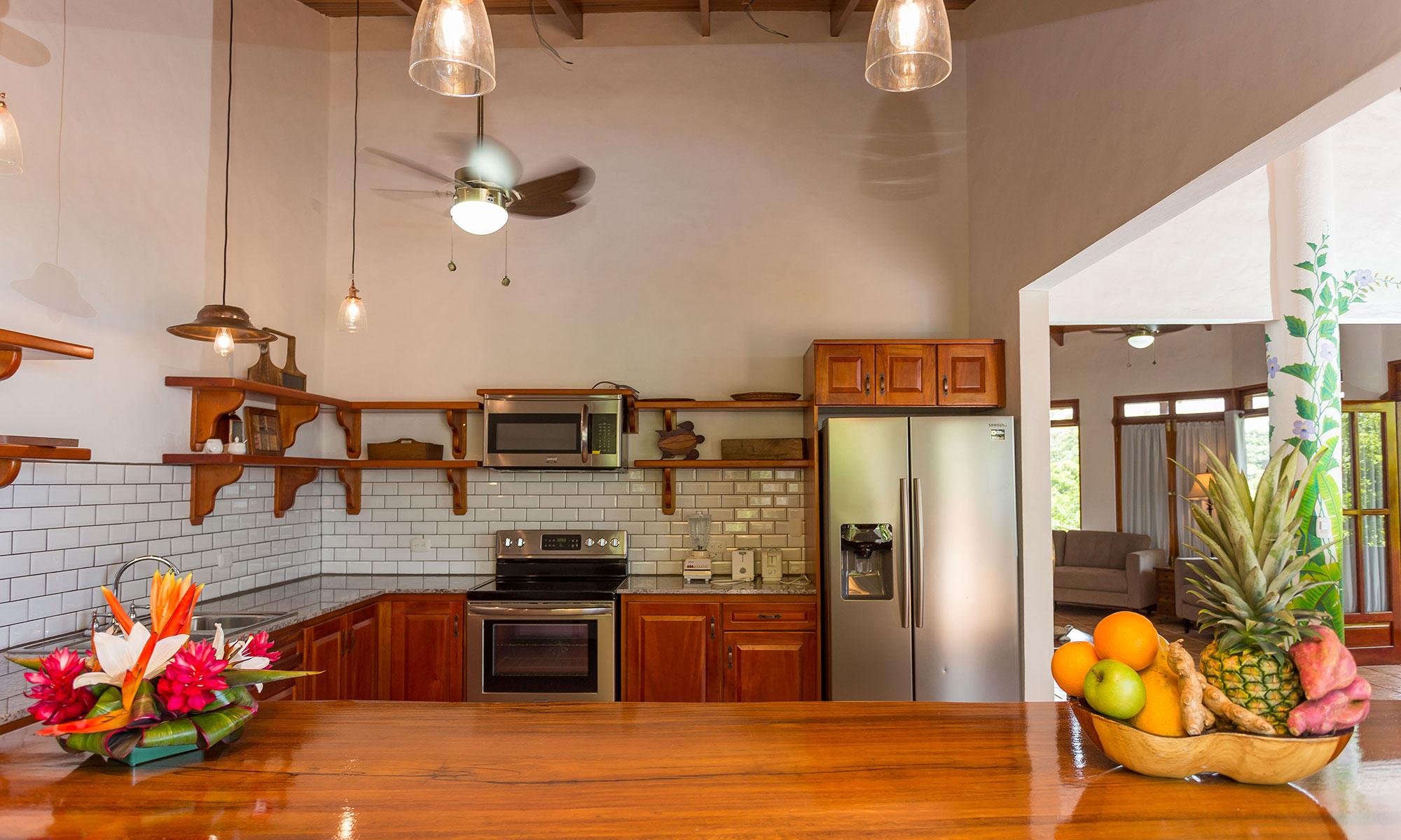 Villa Natura kitchen