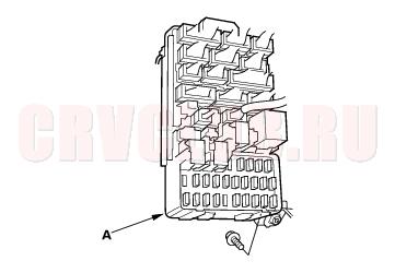 Under-dash Fuse/Relay Box 22A-58