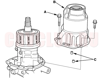 Differential Disassembly15-18
