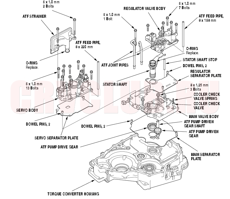 Service manual [How To Install 2010 Honda Element Valve
