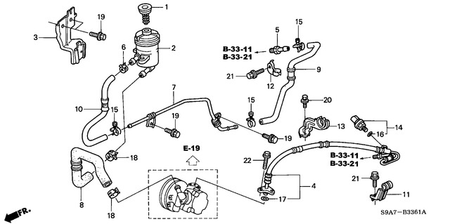 honda power steering diagram leviton smart switch 3 way wiring crv return hose leak name b 3361 jpg views 958 size 42 6 kb
