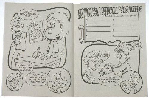 How To Handle Bullying (CB235) Educational Coloring Books