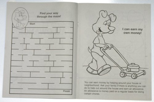 Be Smart, Save Money (CB540) Educational Coloring Books
