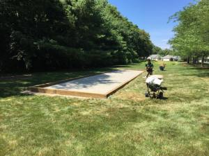 Bocce Court at The Community at Pond Meadow, Wrentham, MA
