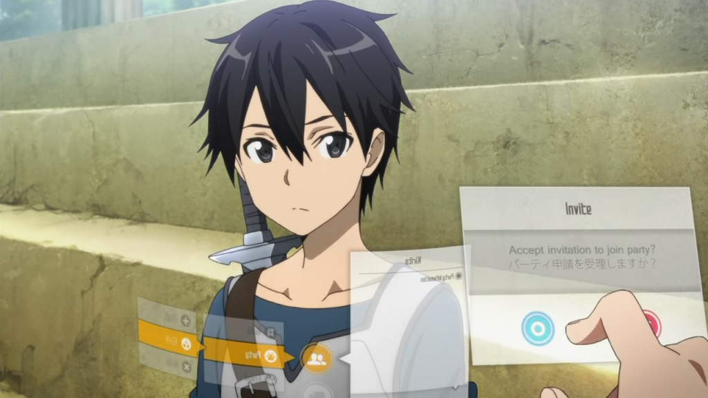 Image result for Sword Art Online anime game screen