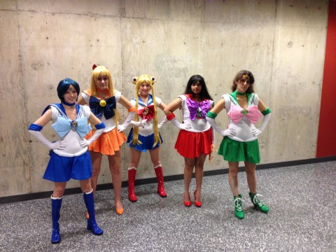 Sailor Scouts - Sailor Moon