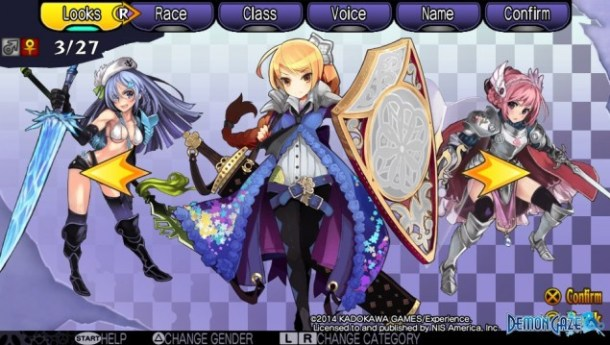 Demon Gaze Females 03
