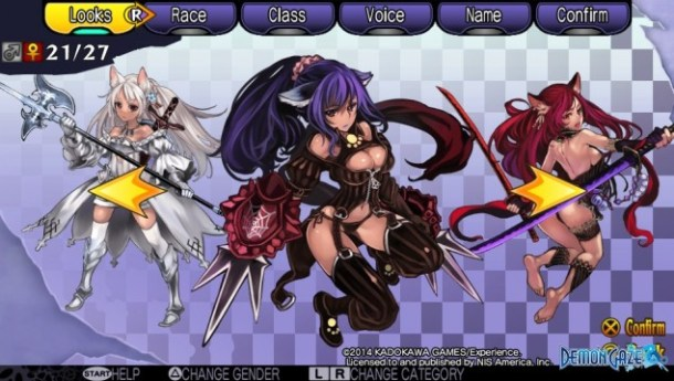 Demon Gaze Females 21