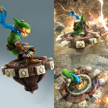 You need a Link Amiibo to play as Link - Spinner Mode.