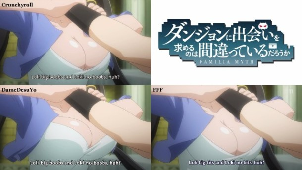 DanMachi Boobs