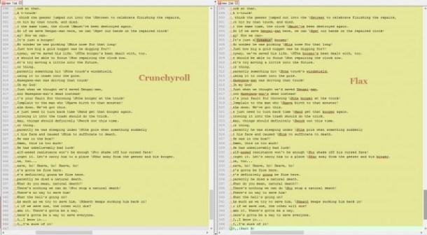 Crunchyroll vs Flax - Gintama S3