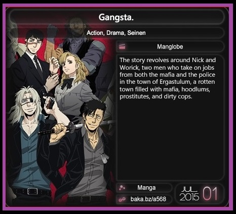 Gangsta_Anime_Details