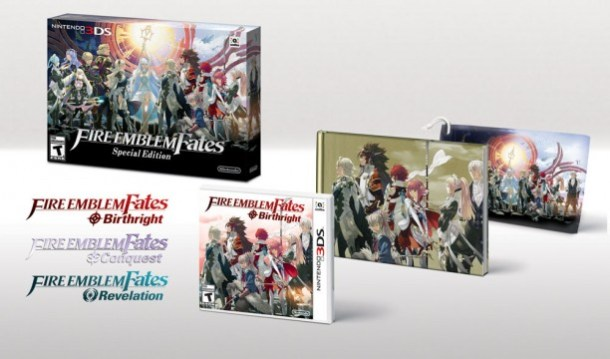It looks like you're just getting the Birthright box, but the thing's got the Conquest box-art on the back, and this as a reversible cover.