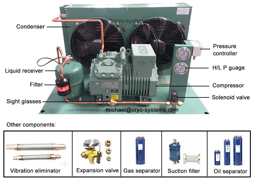Copeland Scroll Wiring Diagram Refrigeration Bitzer Condensing Unit
