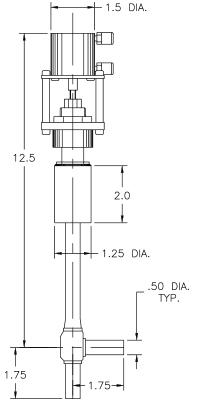 Cryogenic Valve Model C5042-P13A