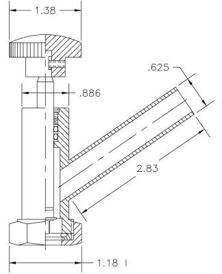 Vacuum Valve Operator Model V1045–2
