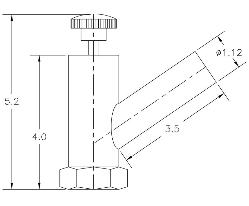 Vacuum Valve Operator Model V1085-2