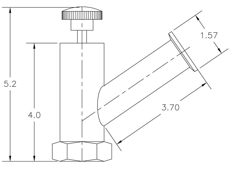 Vacuum Valve Operator Model V1085–3–25