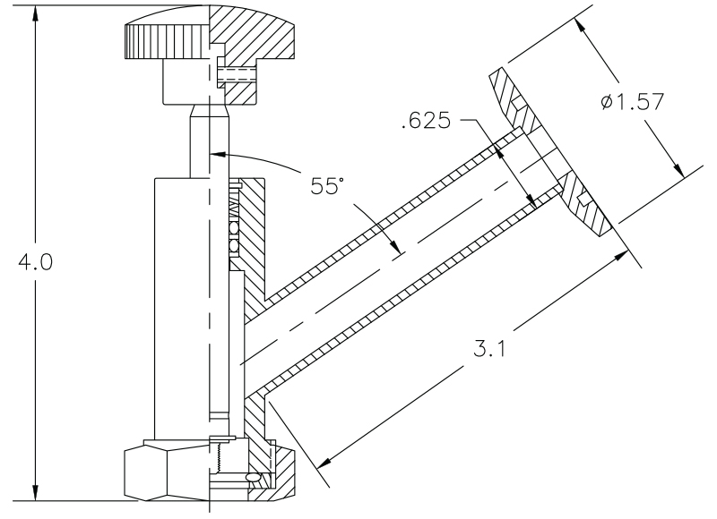 Vacuum Valve Operator Model V1045–3–25