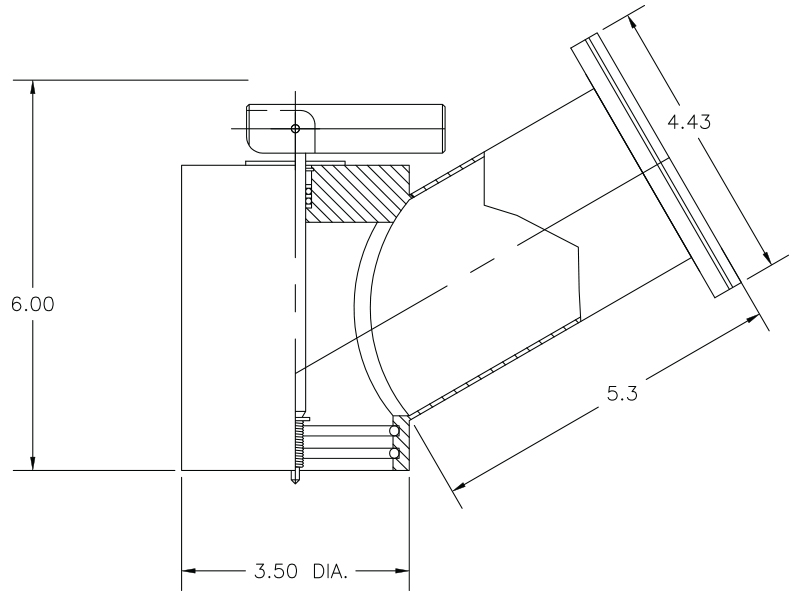 Vacuum Valve Operator Model V1245–3–80