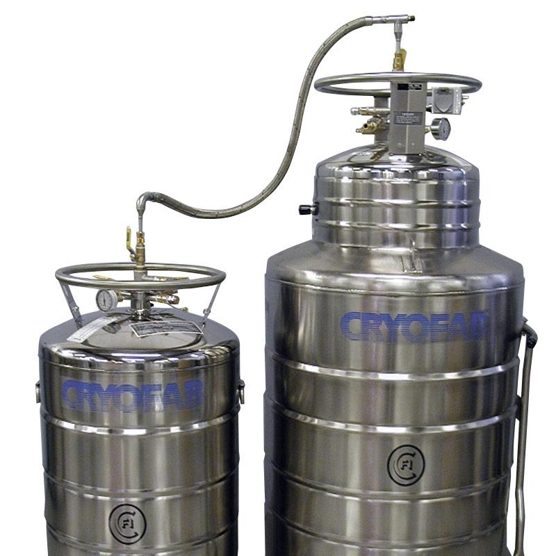 liquid helium transfer hose