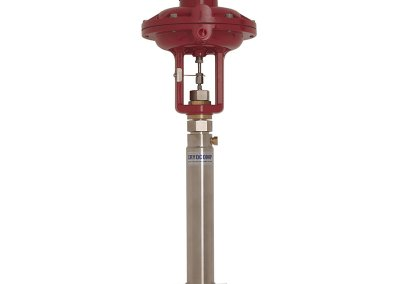 cryogenic piping system valve