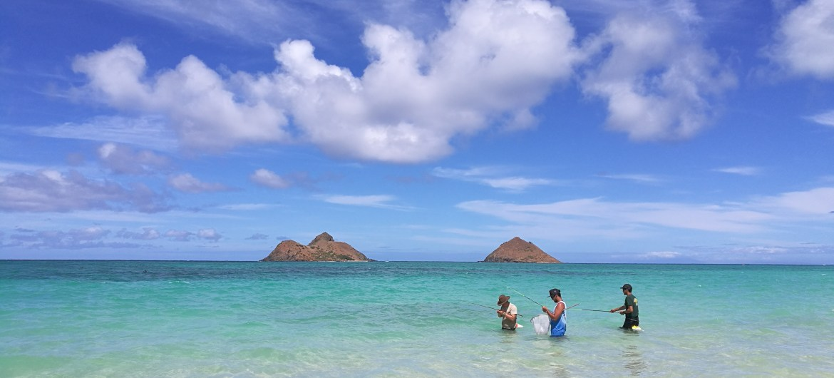 Lanikai Beach, Hawaii.