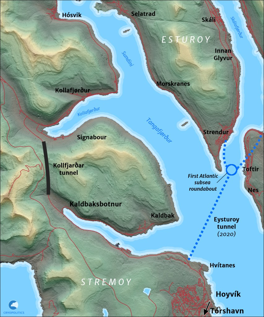 In the Faroes, underwater tunnels revolutionize transport – CRYOPOLITICS