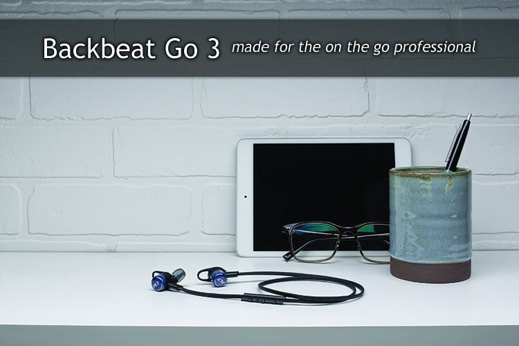Plantronics Backbeat Go 3 for the active professional in all of us 1