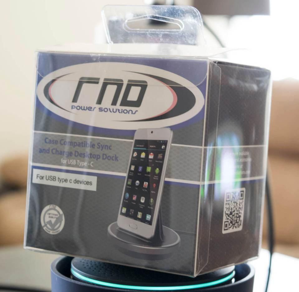 RND Desktop charging station for USB-C devices