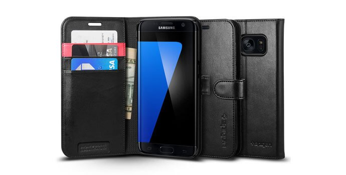 """Spigen's Samsung Galaxy S7 Edge has a wallet case you need to """"HAVE"""" 1"""