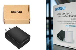 CHOETECH USB-C 5V/3A rapid charger