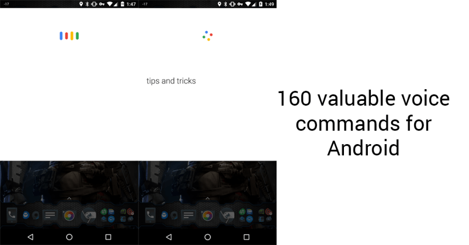 160 valuable voice commands for Android Cryovex