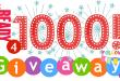 1000 followers giveaway cryovex header